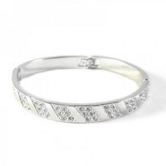 Swarovski kristályos ezüst...